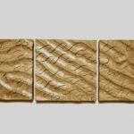 9.River Usk, Sand Ripples 1